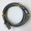 2m USB Micro Braided Sync Cable